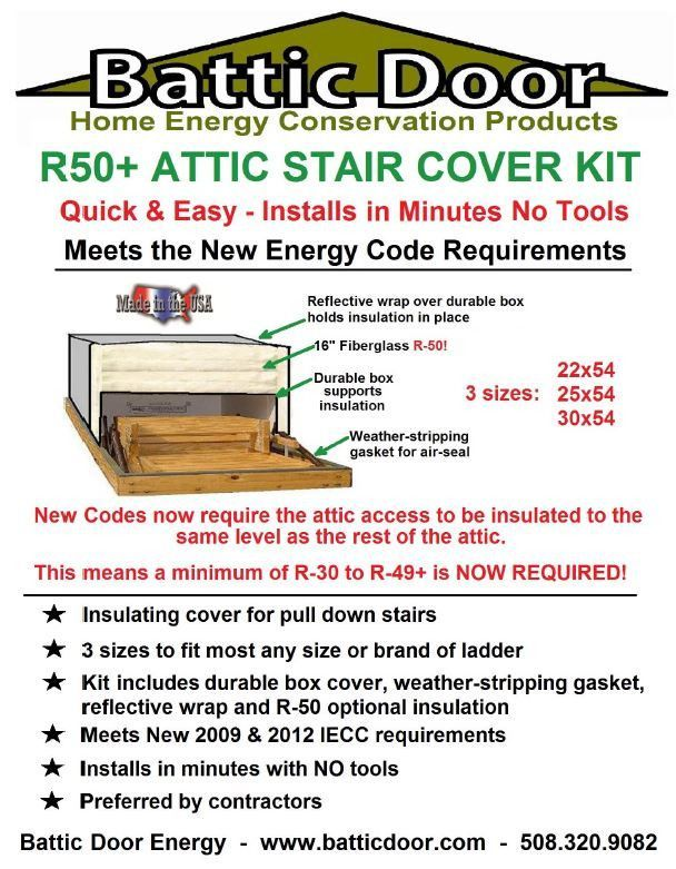 The Battic Door Attic Stair Cover kit includes a rigid box (stair cover) rubber gasket a reflective shield and fiberglass insulation.  sc 1 st  Pinterest & Best 25+ Attic stair insulation ideas on Pinterest | Attic stairs ... pezcame.com