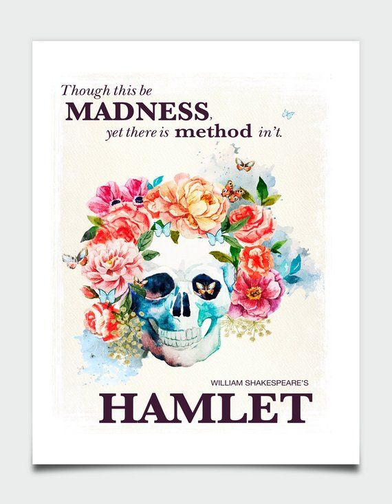 A Book On A Page SHAKESPEARE Four A3 prints posters new gift Macbeth Hamlet