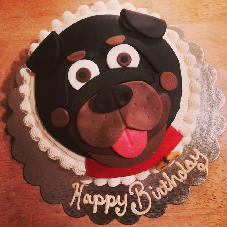 rottweiler cakes