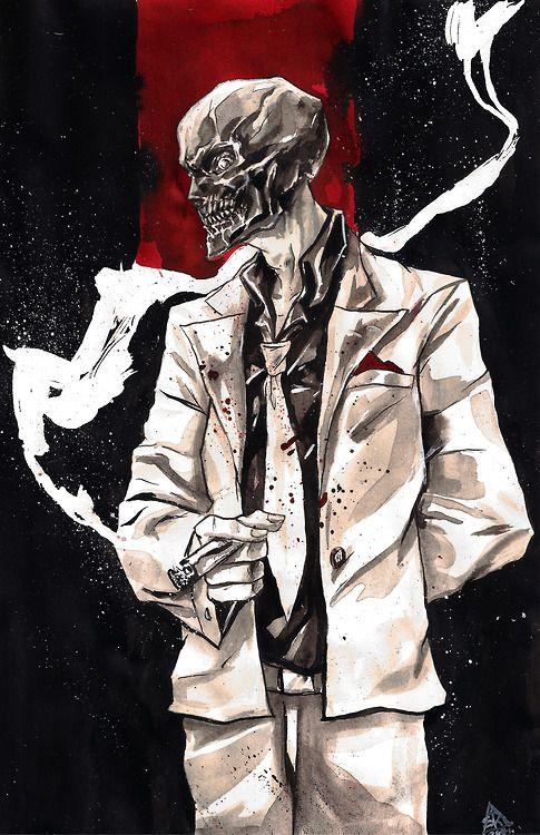 Black Mask by skizoh