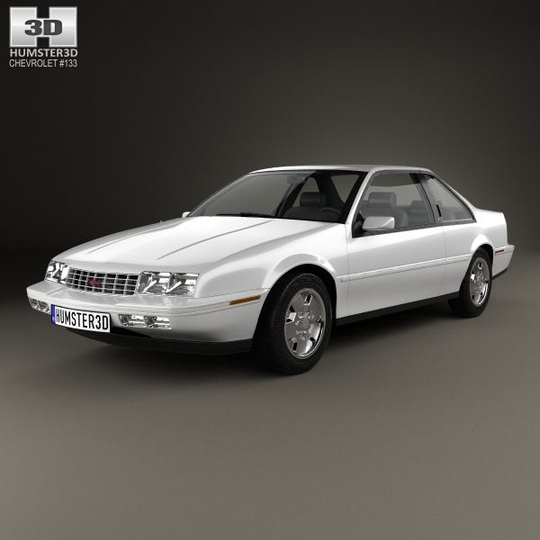 Chevrolet Beretta GT 1988 3d model from humster3d.com. Price: $75