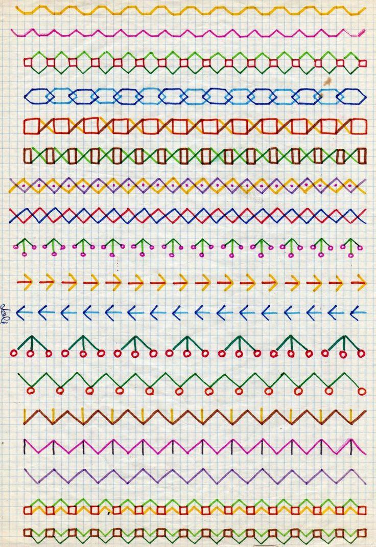 Mejores 8 im genes de cenefas en pinterest cenefas - Cenefas para dibujar ...