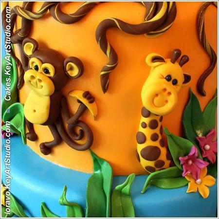 Детский Тортик Джунгли-Сафари                                     Опубликовано16 июня 2012 автором loravo в Подробно о работах Комментариев: 11                                                Детский Тортик Джунгли-Сафари by Larissa Volnitskaia (loravo) / Loravo Blog: Кулинарные записки дизайнера