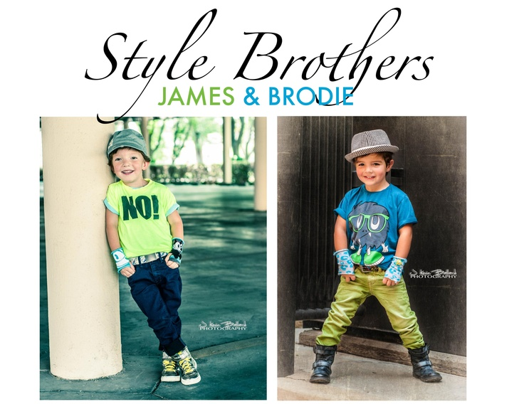 James & Brodie ~ featuring NuNuNu, H, Diesel, Zara & Pumpkin Patch USA ~ fabulous!!