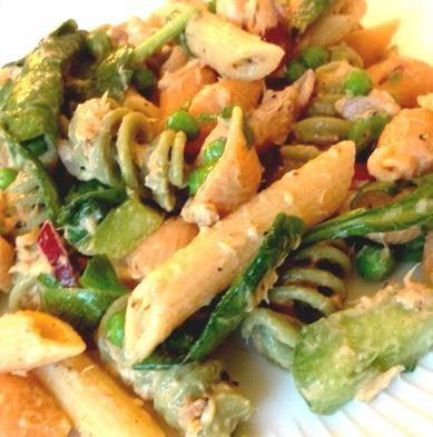 Low Fat Tuna Pasta Salad 23