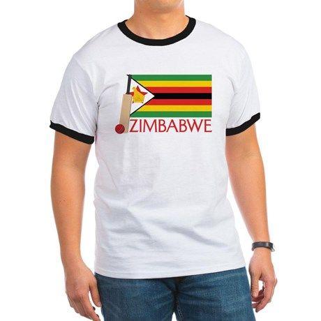 Zimbabwe Cricket T-Shirt on CafePress.com