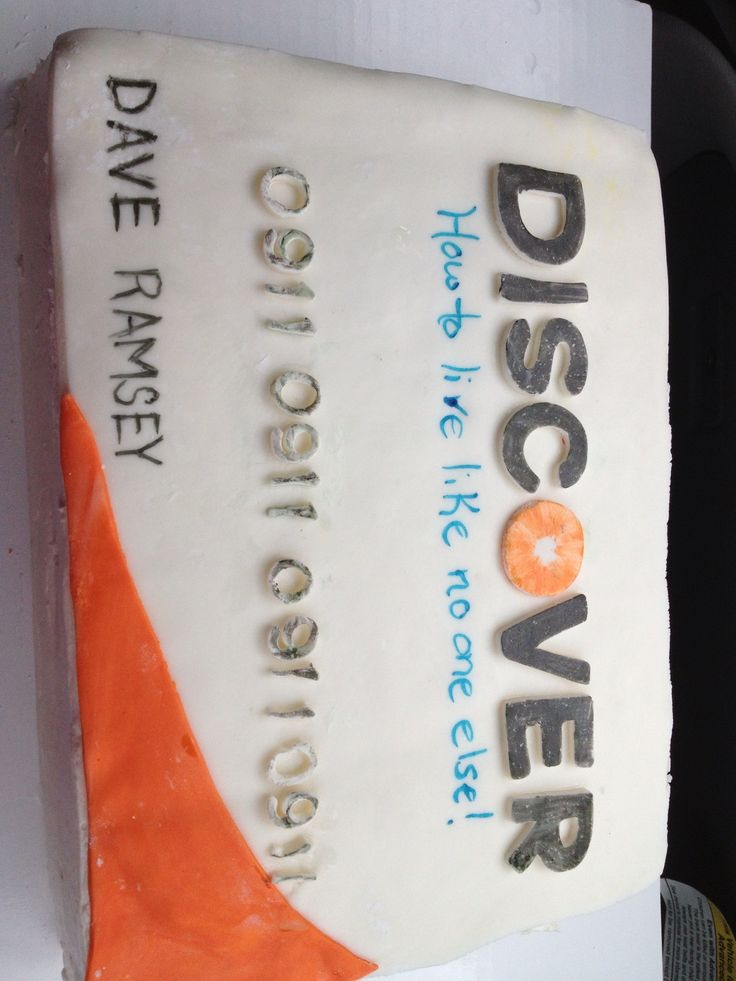 Debt Free Cake Ideas