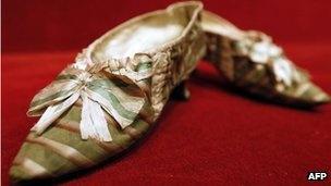 Marie Antoinette's slippers