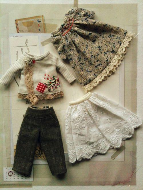 littlemoshi - Blythe's clothes