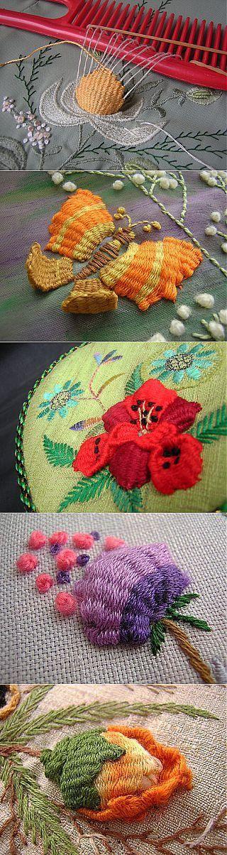 ришелье бразильская вышивка