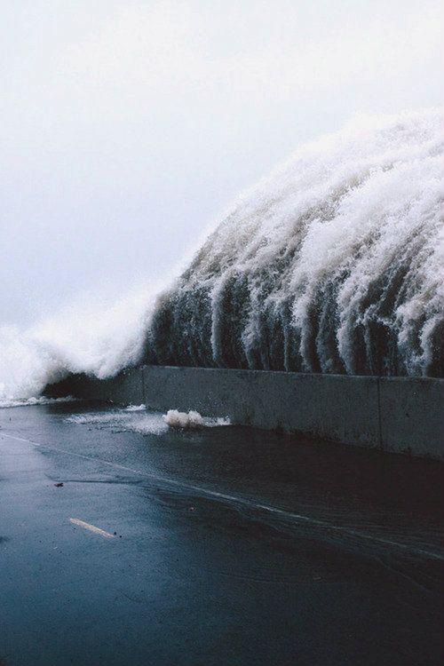 Tidal Wave | Source: Natural Disasters - Tumanako via Urbanscenarios