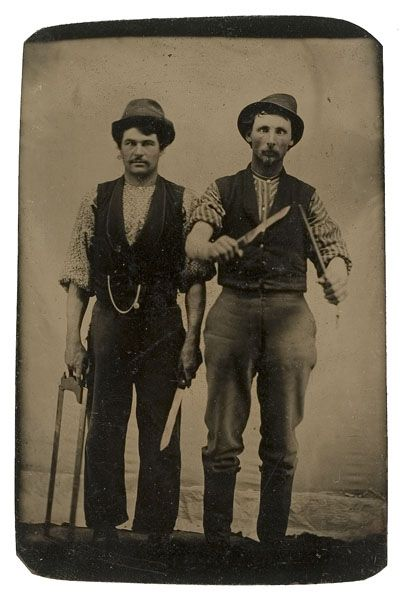 One of Five Occupational Tintypes, - Cowan's Auctions