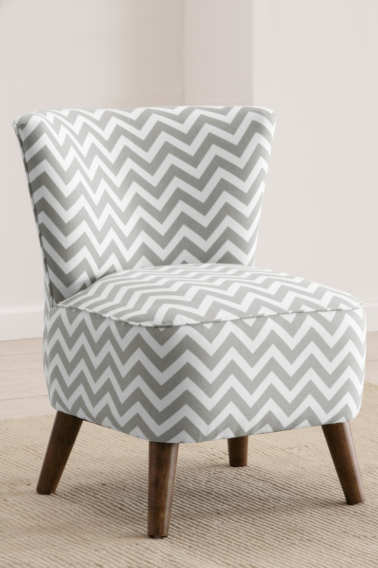 Love this chevron pattern for a bedroom chair. by Gold Coast Furniture