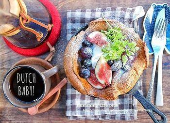 こんな素敵な朝食憧れます♡イチジクやぶどうのトッピングの仕方がとてもお洒落!カフェスタイルがサマになります。