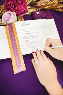 Michaels.com Wedding Department: Purple Luxe Wedding Guest ...