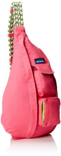 KAVU Rope Bag, Hot Pink, One Size