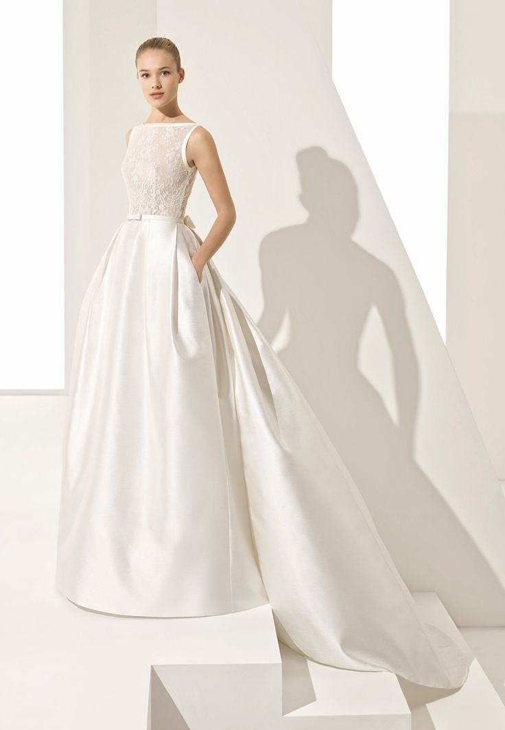 Raw Silk Wedding Dress – Fashion dresses