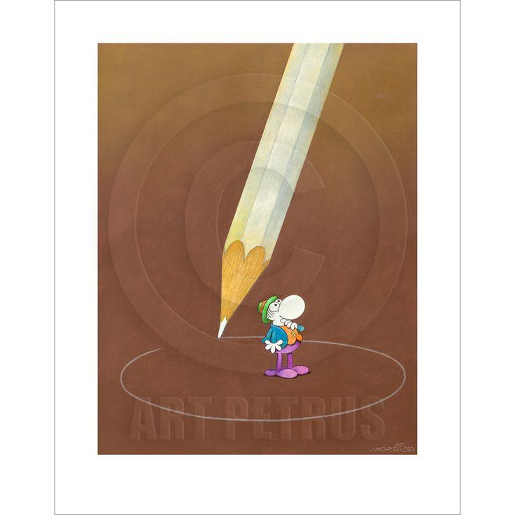 """Big Pencil"" Limited Edition Print"