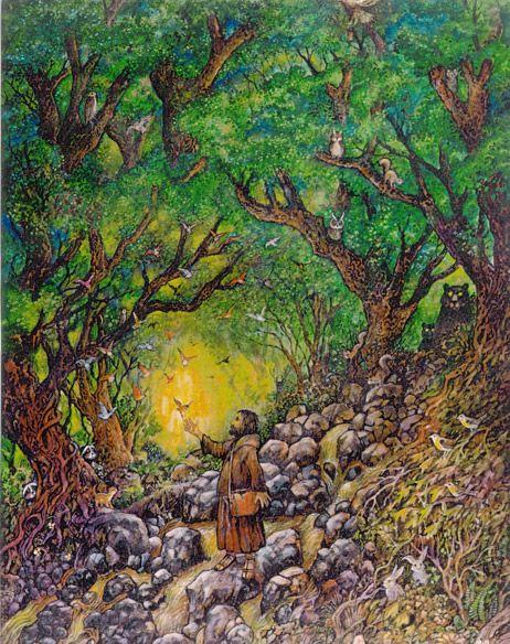 Saint Francis by Bill Bell