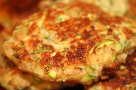 Must try this. Matt might like. Mix some pulp with egg, minced onion and garlic and fry in a bit of olive oil.