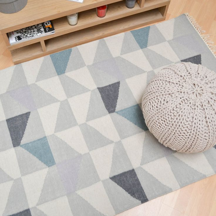 Hackney Geo Rugs Are Skillfully Hand Woven To Create A Great Looking Geometric Design With