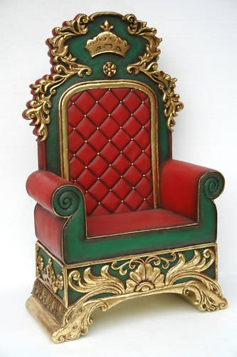 Santa Claus King Throne Santa Throne Christmas Chair