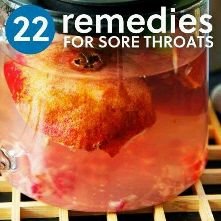22 Home Remedies For Sore Throats. I can't stand taking medicine so I'll be sure to put these remedies to use.