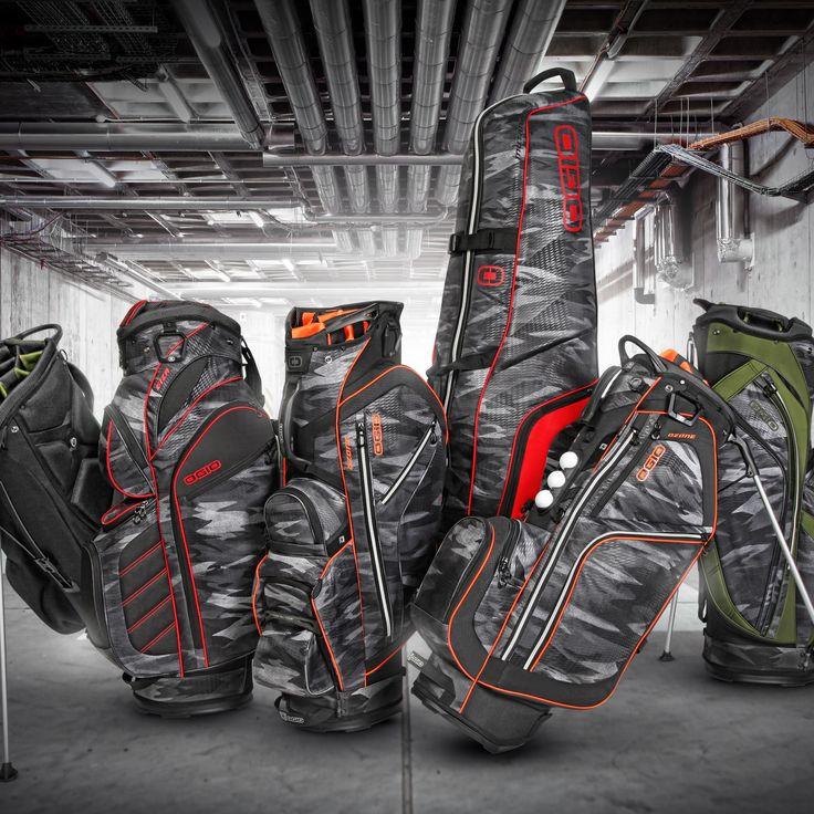 Urban Golf Collection  // #golf #cartbag #standbag #tournament #sport #lifesyle #OGIO