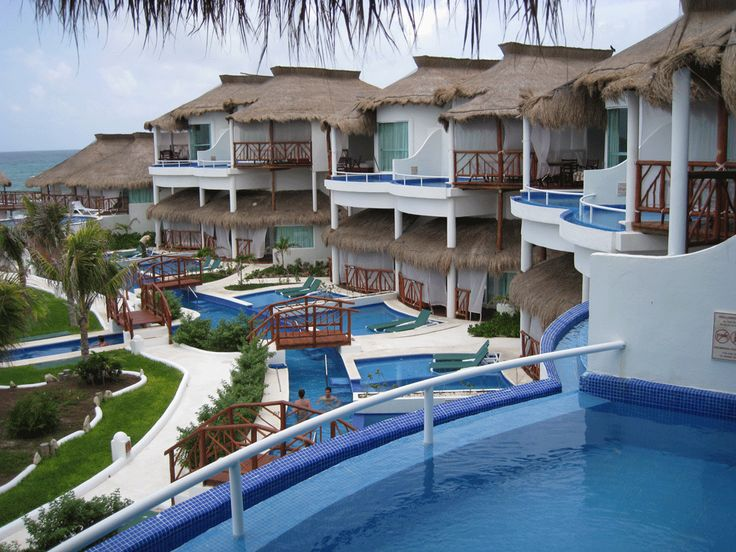 El Dorado Royale Riviera Maya We Swam From Our Room To