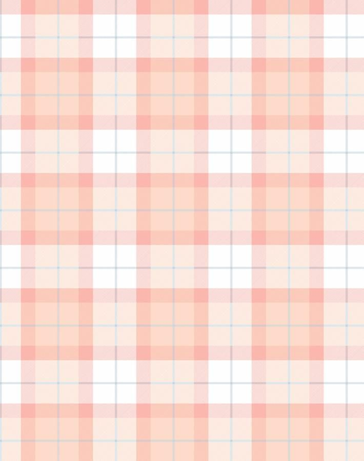 Oban Plaid Removable Wallpaper Peach Simple Iphone Wallpaper Iphone Background Wallpaper Peach Wallpaper