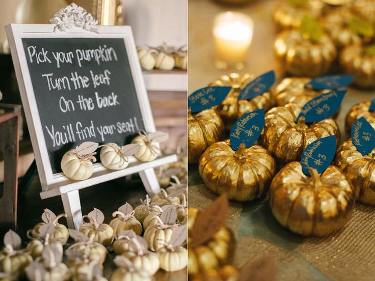12 best fall wedding ideas images on pinterest wedding ideas 7 glamorous ways to decorate your fall wedding with pumpkins junglespirit Gallery