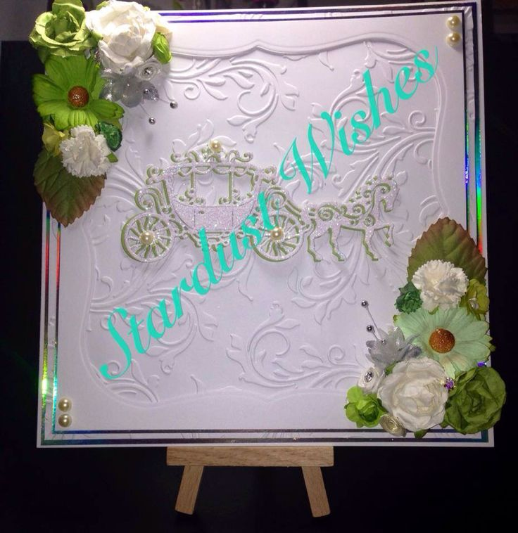 8x8 Wedding Card