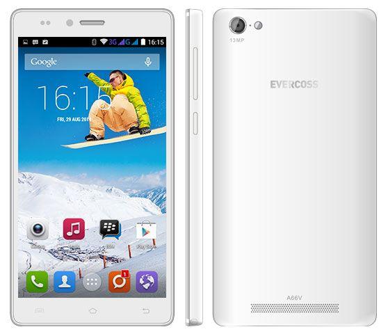 Spesifikasi Harga Evercoss A66V, Ponsel Android Kamera 13MP