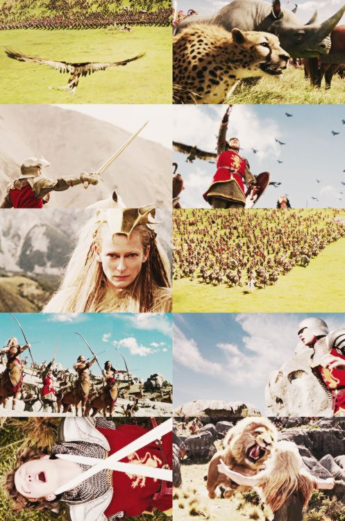 The Chronicles of Narnia meme: [1/7] scenes ↳ Battle of ...