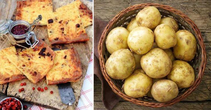 Ugnspannkaka med potatis och fläsk – supergod och enkel | LAND.se