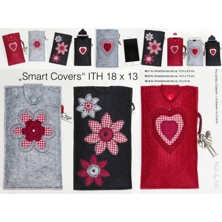 Smart Covers ITH 180 x 130 9 ITH Stickdateien in den Formaten DST, EXP, HUS, JEF, PES, VIP, VP3