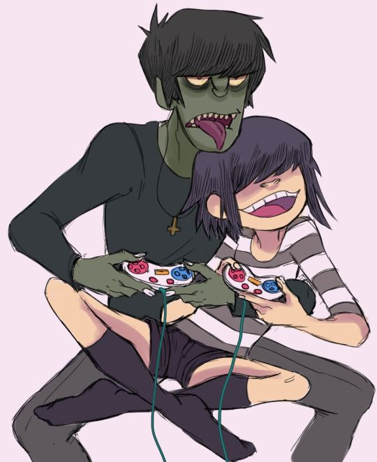 murdoc and noodle relationship test