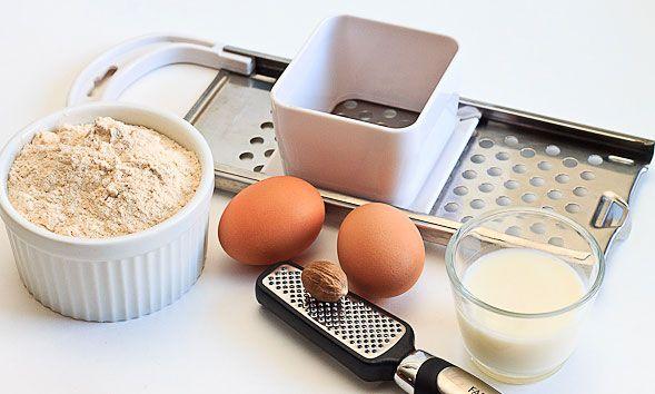 Spaetzle ingredients