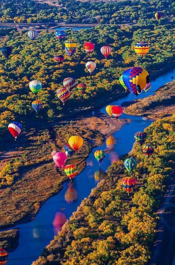 Albuquerque International Balloon Festival Air balloon