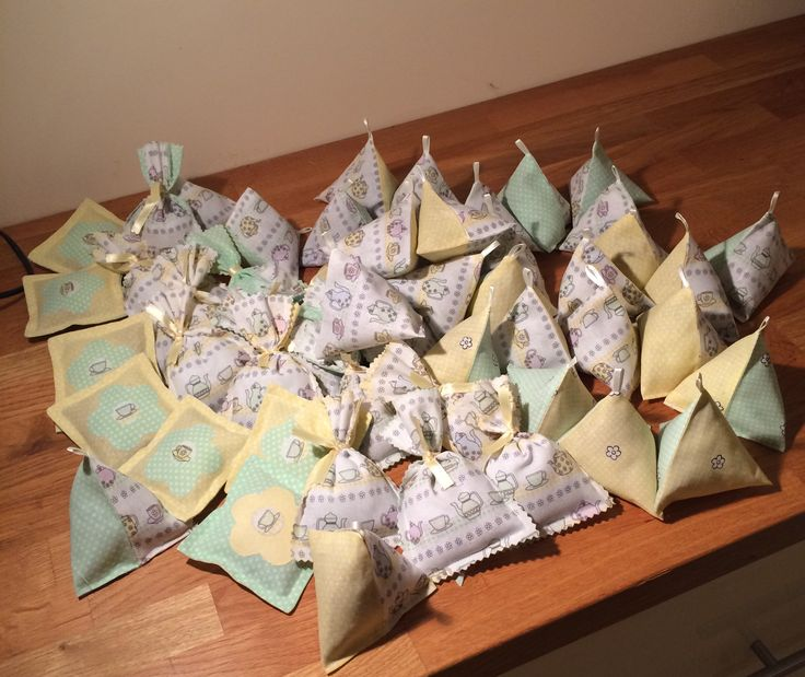 Teatime lavender bags