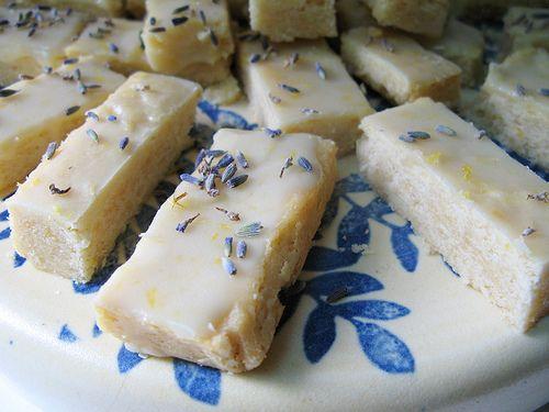 Lavender Shortbread <3