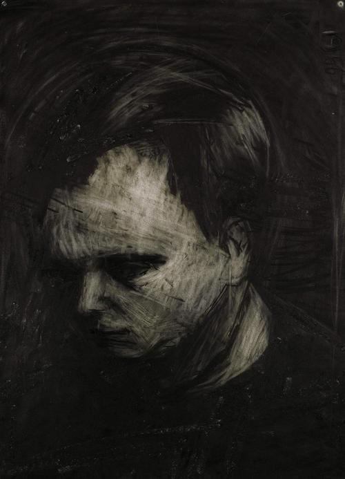 frank auerbach...... I love charcols