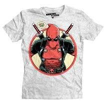 Playera Outta The Way Mascara De Latex Marvel Deadpool