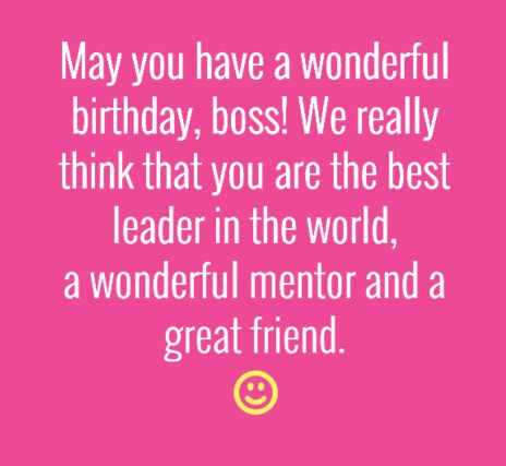 The 40 Birthday Wishes for Boss | WishesGreeting