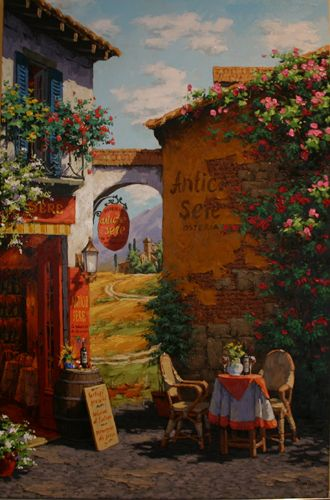 Under The Tuscan Arch Viktor Shvaiko