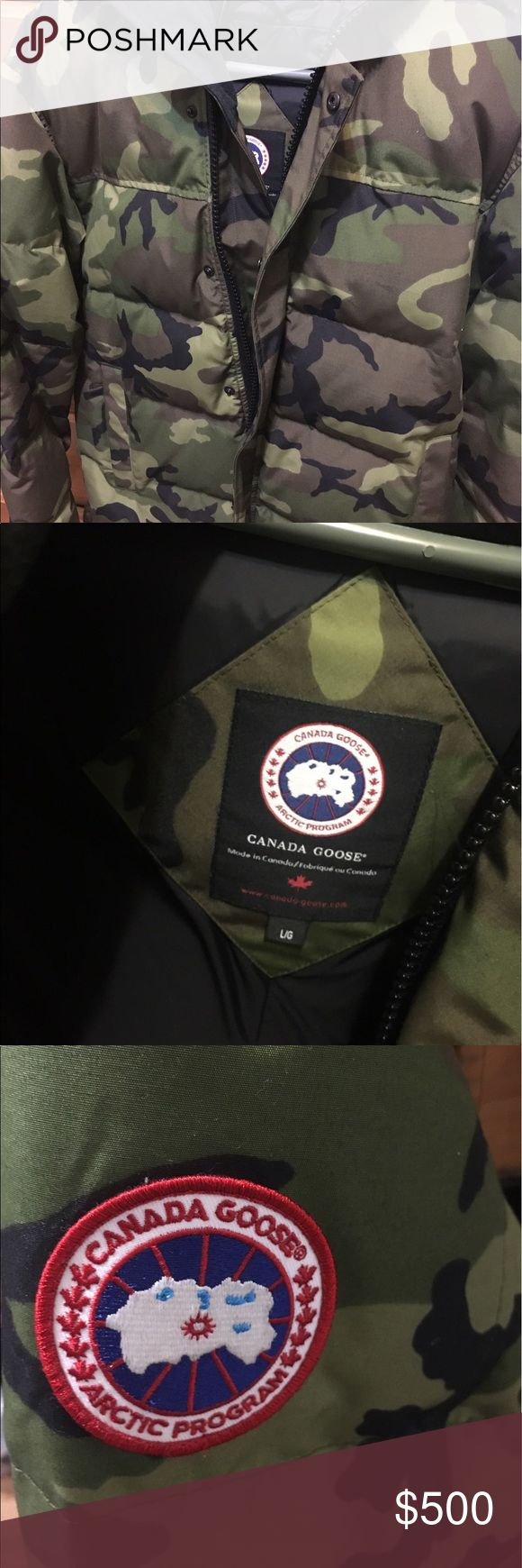 Canada goose macmillian parka Only worn few times Canada Goose Jackets & Coats Puffers