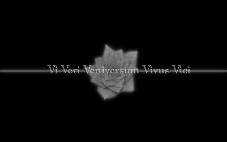 V for Vendetta - By the power of truth, I, while living, have conquered the universe.