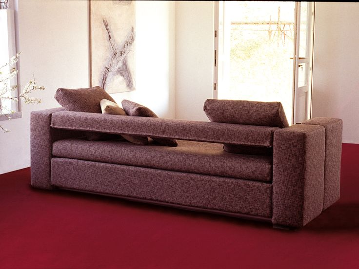 innovative sofa transforms into bunk beds in 12 seconds by architect giulio manzoni