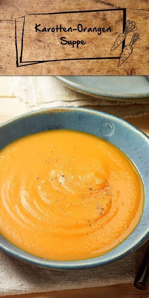 Hier haben wir eine fruchtig aromatische Suppe, die dich auf jeden Fall begeistern lässt! Die Karotten-Orangen-Suppe ist genau das Richtige für kalte Tage. Sie ist einfach zuzubereiten und du kannst sie nach Belieben mit Ingwer oder Chili verfeinern.