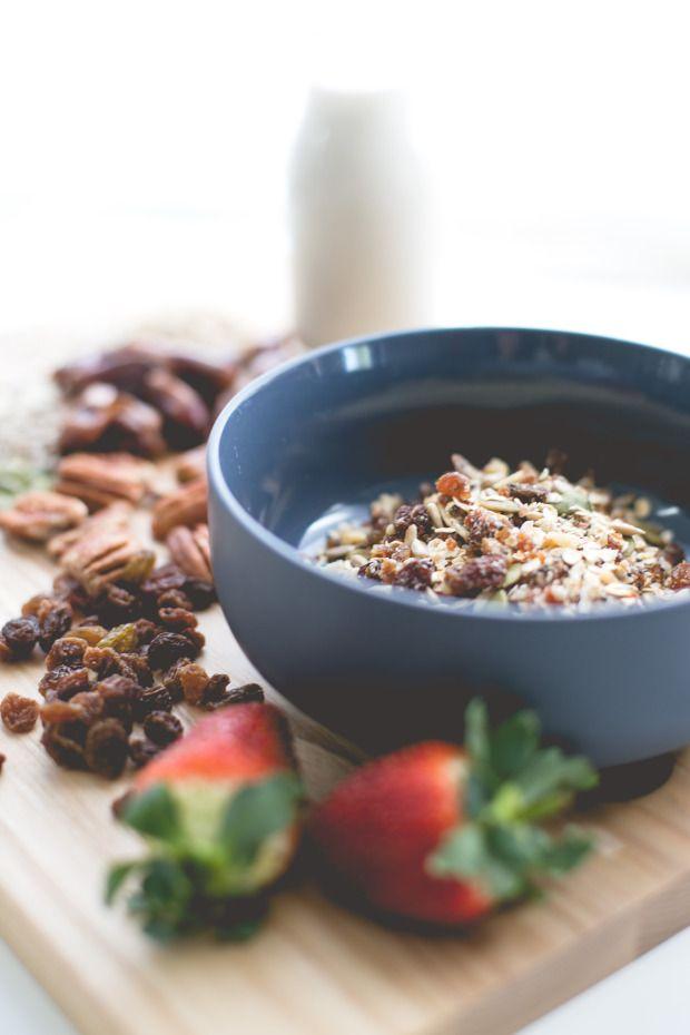 Healthy Homemade Muesli Recipe www.piezloves.com